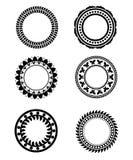 Circle ornaments Stock Image