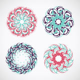 Circle ornaments Royalty Free Stock Photography