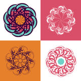 Circle ornaments Royalty Free Stock Photos