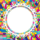 Circle Painting Royalty Free Stock Photos