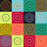 Circle - pastel color background Stock Photography