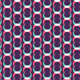 Circle pattern. Including seamless sample in swatch panel Royalty Free Stock Photography