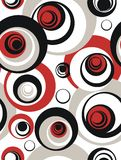 Circle pattern. Pattern witch circles - vector, illustration Royalty Free Stock Photo