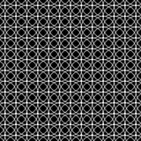 Circle pattern black and white background royalty free illustration