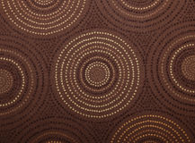 Circle Pattern Fabric Royalty Free Stock Images