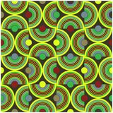 Circle pattern green Stock Photo