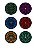 Circle pattern illustration. Using vectors Royalty Free Stock Image