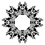 Circle pattern Stock Photography