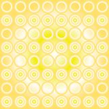 Circle pattern Stock Photography