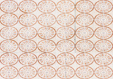 Circle pattern tile Stock Images