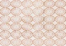 Circle pattern tile Stock Images