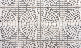Circle pattern tile Royalty Free Stock Image