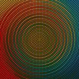 Circle Pattern. Vector Abstract Colorful Circle Pattern Stock Photography