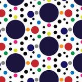 Circle pattern vector. Art design stock illustration