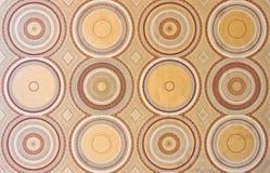 Circle pattern wallpaper Stock Photos
