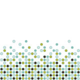 Circle pattern on white background Stock Images