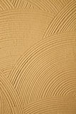 Circle Patterns in a Stucco Wall Stock Photo