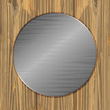 Circle on a planks Royalty Free Stock Image