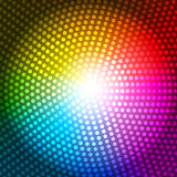 Circle Radius Abstract Rainbow Background Vector Illustration Royalty Free Stock Photography