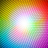 Circle Radius Abstract Rainbow Background Vector Illustration Royalty Free Stock Photos