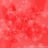Circle Red Light Background. Round Red Wave Pattern royalty free illustration