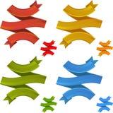 Circle ribbon Royalty Free Stock Photo