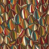 Circle rock seamless pattern Royalty Free Stock Image