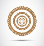 Circle rope Royalty Free Stock Images
