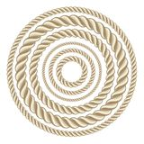 Circle ropes Royalty Free Stock Photography