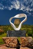 Circle of Sacred Smoke Sculpture Royalty Free Stock Images