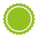 Circle seal emblem icon Royalty Free Stock Images
