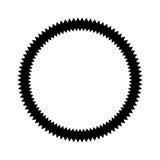 Circle seal emblem icon Stock Photo
