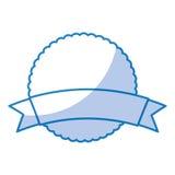 Circle seal emblem icon Stock Images