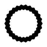 Circle seal emblem icon Stock Photography