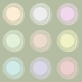 Circle seamless background. Seamless geometric circle abstract background pattern Royalty Free Stock Images