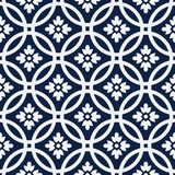 Circle seamless pattern Stock Images