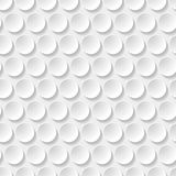 Circle seamless pattern. Abstract geometric seamless pattern with circles and long shadow Royalty Free Stock Images