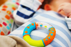 Circle shaped baby toy Stock Image