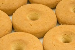 Circle shaped cookies Stock Photo