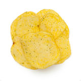 Circle shaped salty snacks. Stock Photography