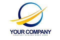 Circle Shapes Logo Royalty Free Stock Photography