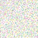 Circle shapes. vector seamless pattern. abstract geometric background. textile paint. repetitive background. fabric swatch. Wrapping paper. modern stylish stock illustration