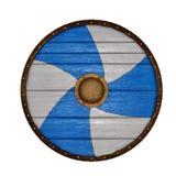 Circle shield - 3D render Royalty Free Stock Photos