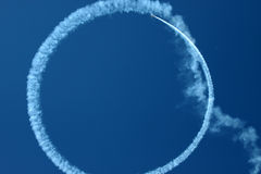 Circle in the sky Royalty Free Stock Image