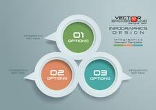 Circle Speech Infographics Design Stock Photography