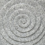 Circle spiral stone texture Royalty Free Stock Photos