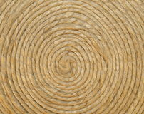 circle spiral string for background texture Stock Photos