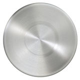 Circle stainless steel surface Royalty Free Stock Photography