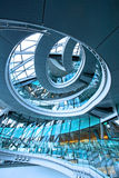 Circle stairway Stock Photography