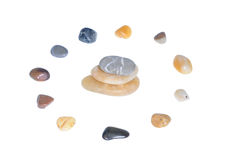 Circle of stones Royalty Free Stock Photos
